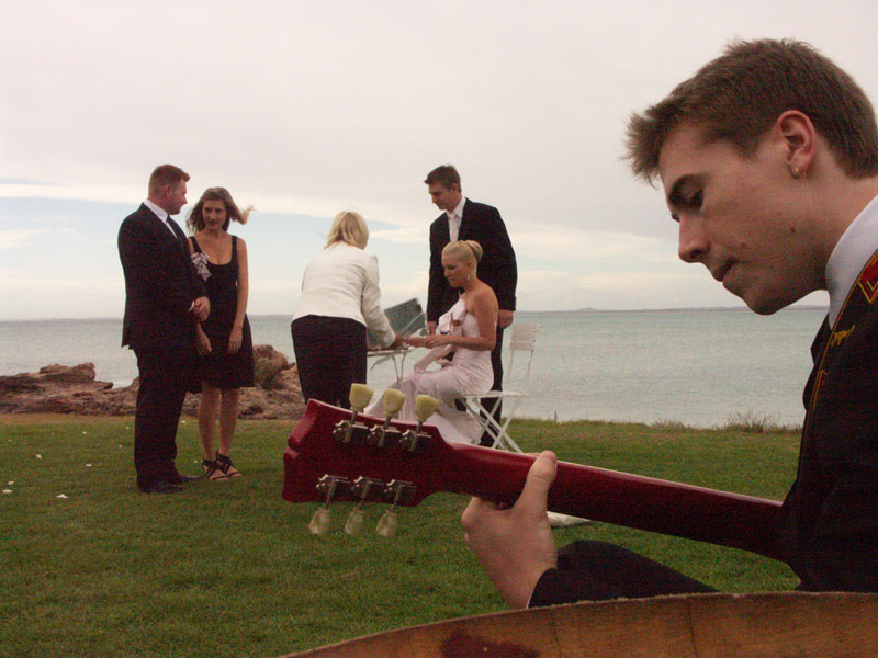 signing bridal registry guitar music